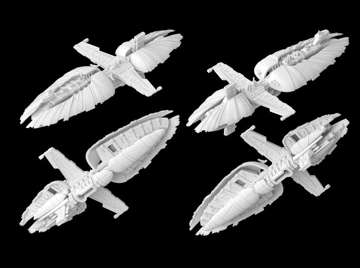 (Armada) Munificent Frigate 3d printed