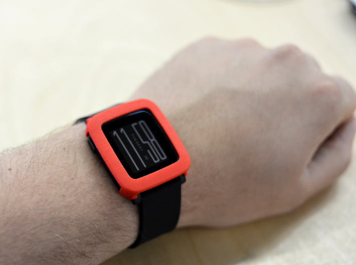 Pebble Time / Time 2 cover / bumper 3d printed