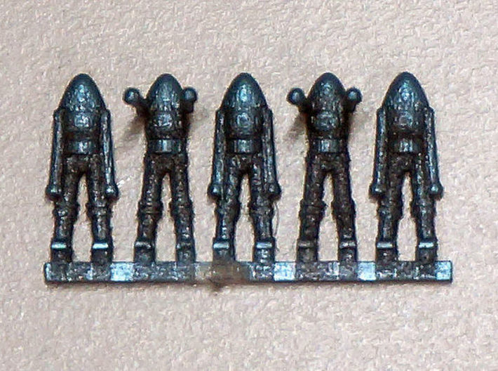 Aliens in 1/200 scale 3d printed Frosted Extreme Detail painted