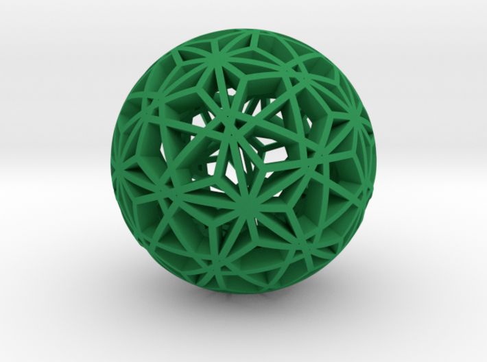 Christmas Ornament 1.03 2x 3d printed