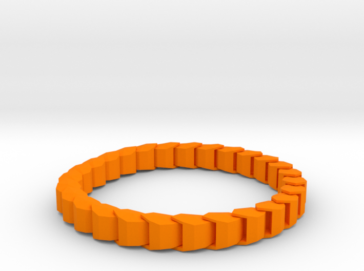 Chained Bracelet 3d printed
