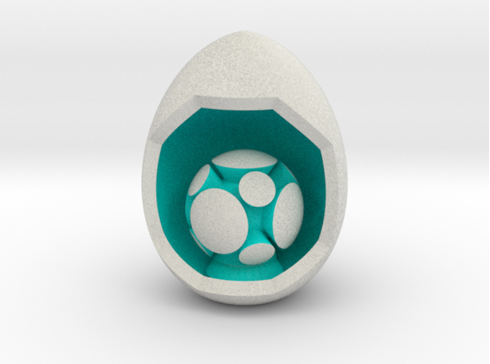 LuminOrb 2.5 - Egg Stand 3d printed Shapeways Render of Egg Display Stands with HARMONY amongst LuminOrb Series I and II