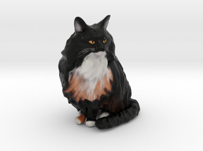Custom Cat Figurine - Elizabeth 3d printed