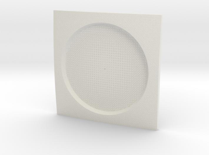 Parametric Coaster 3d printed
