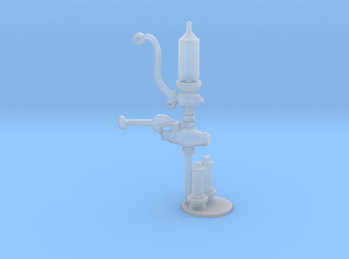 1:20 scale whistle and pop valves 3d printed