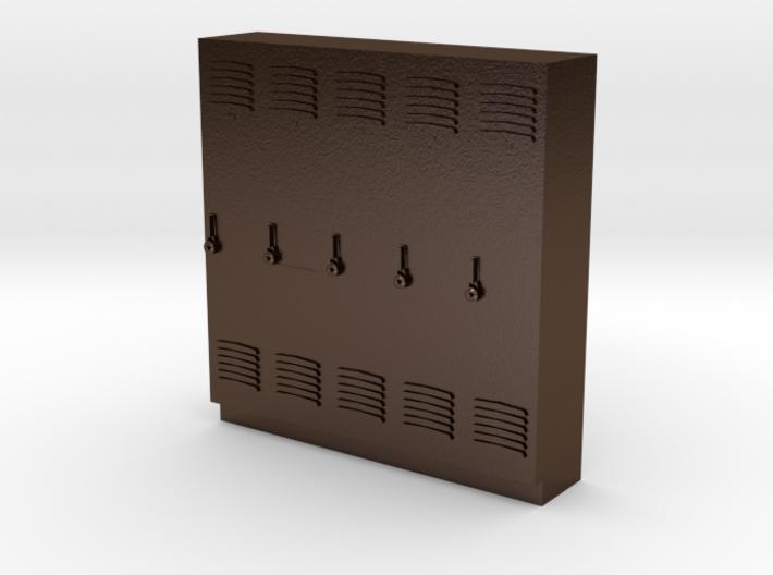 O Scale Lockers 3d printed