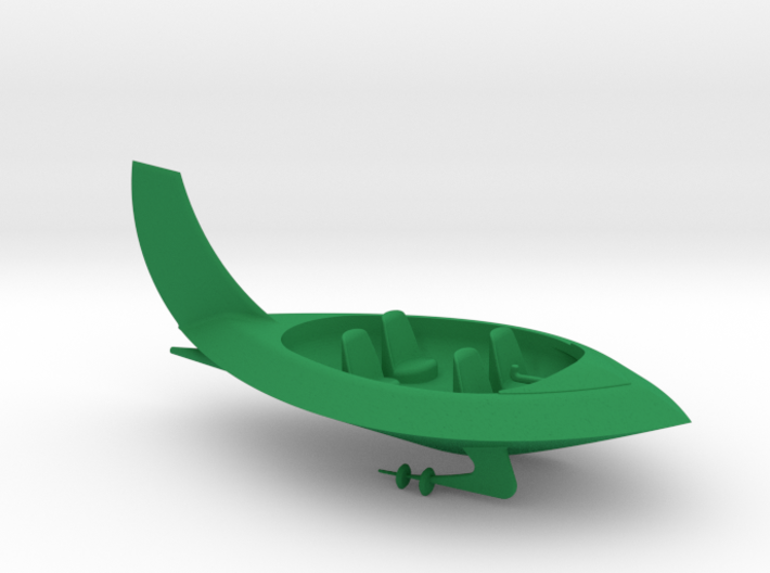 Jetsons Hull Solid 3d printed