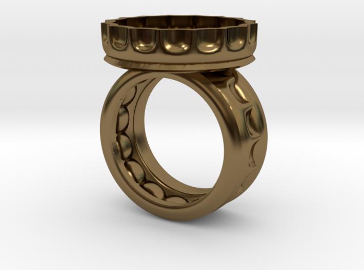 Beer Ring 9.5 3d printed