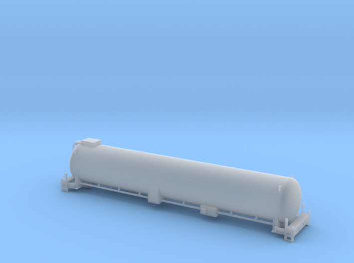 BNSF LNG Tender - Nscale 3d printed
