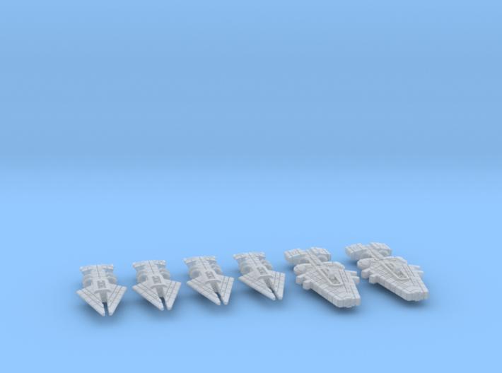 Orion (KON) Cruiser Squadron 3d printed