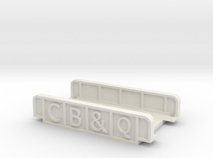 CB&Q N SCALE 3d printed