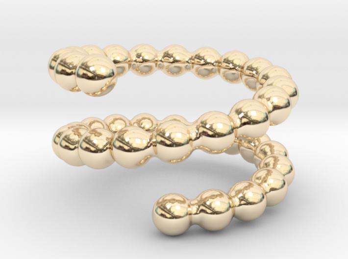 Spiral Ring 25 3d printed