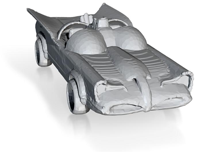 Retro Batmobile 1:160 3d printed