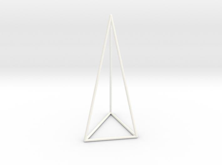 Pyramis Laterata Triangula Inequilatera Vacua 3d printed
