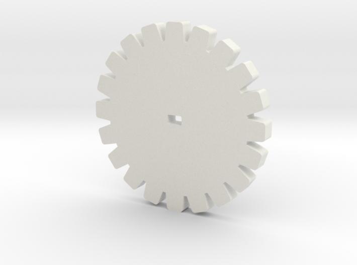 20 Teeth Gear for Stepper motor (28BYJ-48) 3d printed