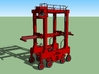 N Kalmar Intermodal Straddle Carrier (PIA) 3d printed Kalmar Straddle Carrier