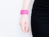 Facet Bracelet #01 3d printed Facet Bracelet #01 printed in rich pink