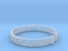 Quit The Typical Bracelet 3d printed