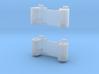 GWR 2 cylinder block (x2), 2mm FS 3d printed