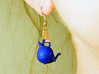 """Whale """"In Disguise"""" Earrings 3d printed"""