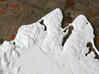 "Martha's Vineyard, MA, USA, 1:100000, 13'' 3d printed Close-up of Vineyard Haven and Oak Bluffs on the 12"" model"