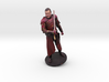 Michael Cook in Red Armor 3d printed