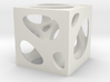 Voronoi Brush Pot 3d printed