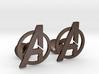Avengers Cufflinks 3d printed