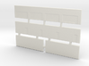 Strip Mall Walls 1 Z Scale 3d printed