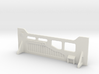 Sci-Fi Barrier / Wall / Corridor With Windows 3d printed