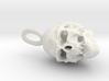 Cool Skull Necklace 3d printed