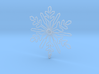 Snow flakes 3d printed