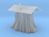 Stump Shack - N Scale 3d printed