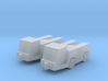 GSE Airport Tow / Push Back vehicle 1:200 (2pc) 3d printed