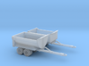 2 Dump Trailer Z Scale 3d printed Dump Trailers Z scale