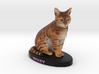 Custom Cat Figurine - Cina 3d printed