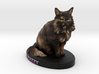 Custom Cat Figurine - Zazzy 3d printed