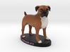 Custom Dog Figurine - Crowley 3d printed
