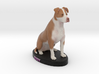 Custom Dog Figurine - Rudy 3d printed