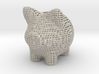 Wire Frame Piggy Bank 2 Inch Tall 3d printed
