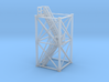 'N Scale' - 10'x10'x20' Tower With Stairs 3d printed