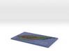 Small Satelite Mountain Course 3d printed
