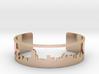 Boston Skyline Bracelet City Cuff Bracelet 3d printed