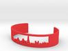 Paris Cuff Bracelet - Paris Cityscape Bracelet 3d printed