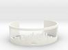 New York Skyline Cuff 3d printed