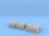1/50th Kenworth Type Vintage battery step boxes 3d printed