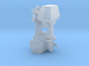 1:96 scale Outboard Motor in set of 2 3d printed