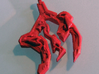 Pendant LLYR 3d printed Printed in PLA Makerbot Replicator 2