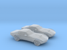 1/160 2X 1969 Chevrolet Corvette Stingray 3d printed