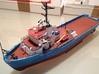 MV Anticosti, Superstructure (1:200, RC Ship) 3d printed final model (painted, includes other parts)